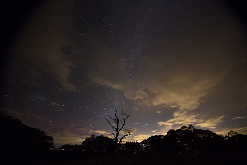 Aurora Australis from Mt Donna Buang