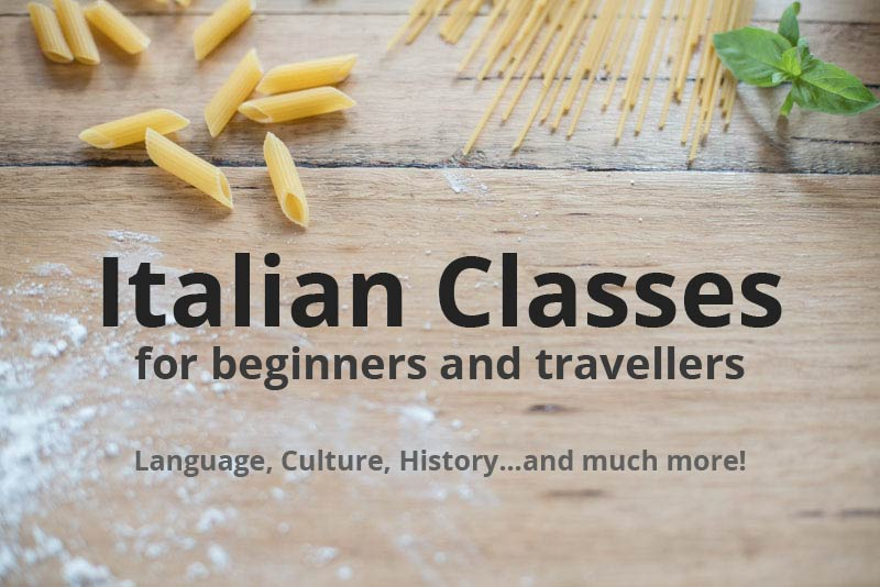 Italian classes in the Dandenong Ranges