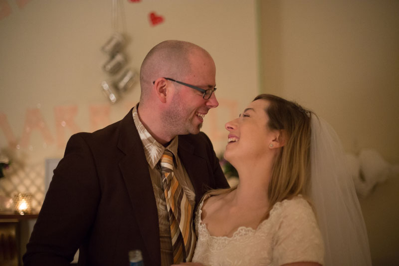 Husband and wife looking in each other's eyes © Erika 's Way Photography