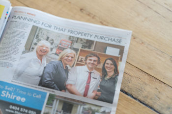 Article about the local Bendigo Bank on Ferntree Gully-Belgrave-Mail Newspaper