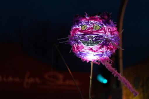Cheshire Cat Lantern