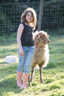 girl growing up in a farm. Copyright Erika's Way Photography 2015
