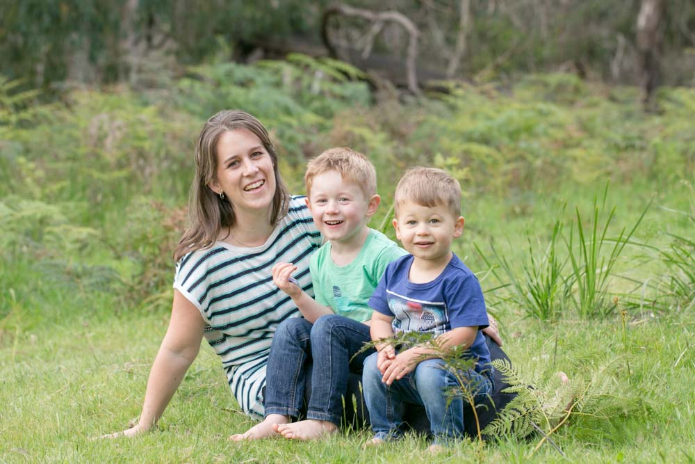 Kids and family photography. Mum and Sons