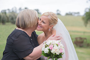Mum and Bride. © Erika's Way Photography