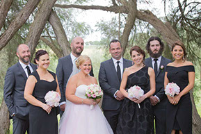 The Bridal Party © Erika's Way Photography