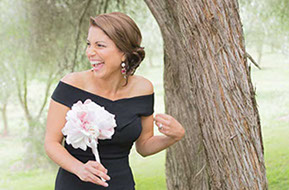 Bridesmaid in the bridal party © Erika's Way Wedding Photography