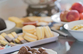 Finger food beroe the wedding © Erika's Way Photography