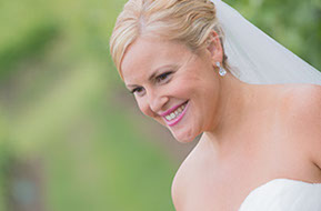 Smiling and happy Bride © Erika's Way Photography