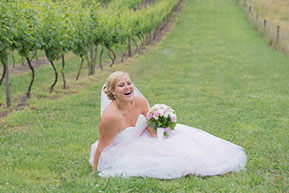 The happiest Bride © Erika's Way Photography
