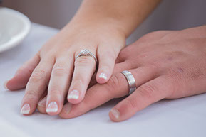 The wedding rings © Erika's Way Wedding Photographer in Melbourne