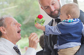 Fun with the kids at the wedding © Erika's Way Photography