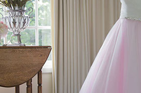 Light pink tulle Wedding Dress © Erika's Way Photography