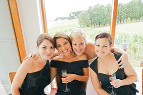 The Bride and her Bridesmaides. © Erika's Way Photography