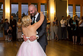 The first dance © Erika's Way Photography