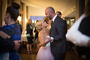 The first Dance: pure magic of the Wedding. © Erika's Way Wedding Photography in Melbourne