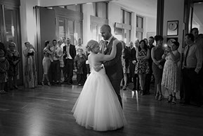 the wedding first dance © Erika's Way Photography
