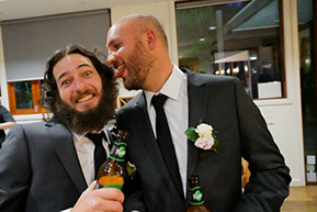 Best man and Groom © Erika's Way Photography