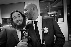 Groom and Best Man © Erika's Way Photography