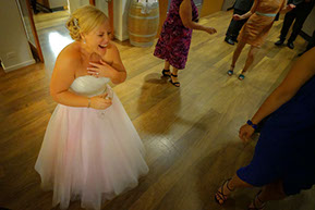 Bride dancing and having fun © Erika's Way Photography