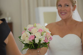 The Bride and the bouquet © Erika's Way Photography Melbourne, Vic