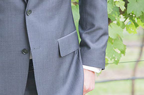 Details of Groom is waiting for the Bride. Wedding at Wild Dog Winery, Warragul. © Erika's Way Photography