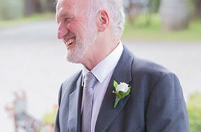 The father of the Groom just before the Wedding © Erika's Way Photography