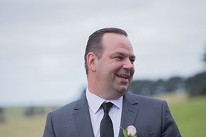 Best man laughing © Erika's Way Photography