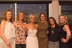 the bride and her girlfriends at Safety Beach, Mornington Peninsula, Vic. © Erika's Way Photography